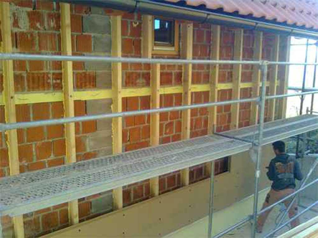 Oblaganje fasade s Fonaterm